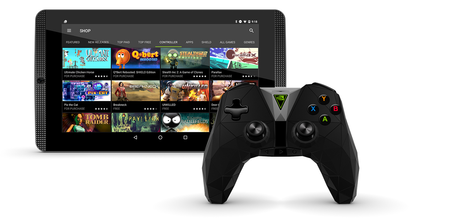 nvidia shield tablette