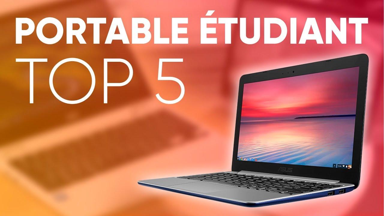 ordinateur portable étudiant