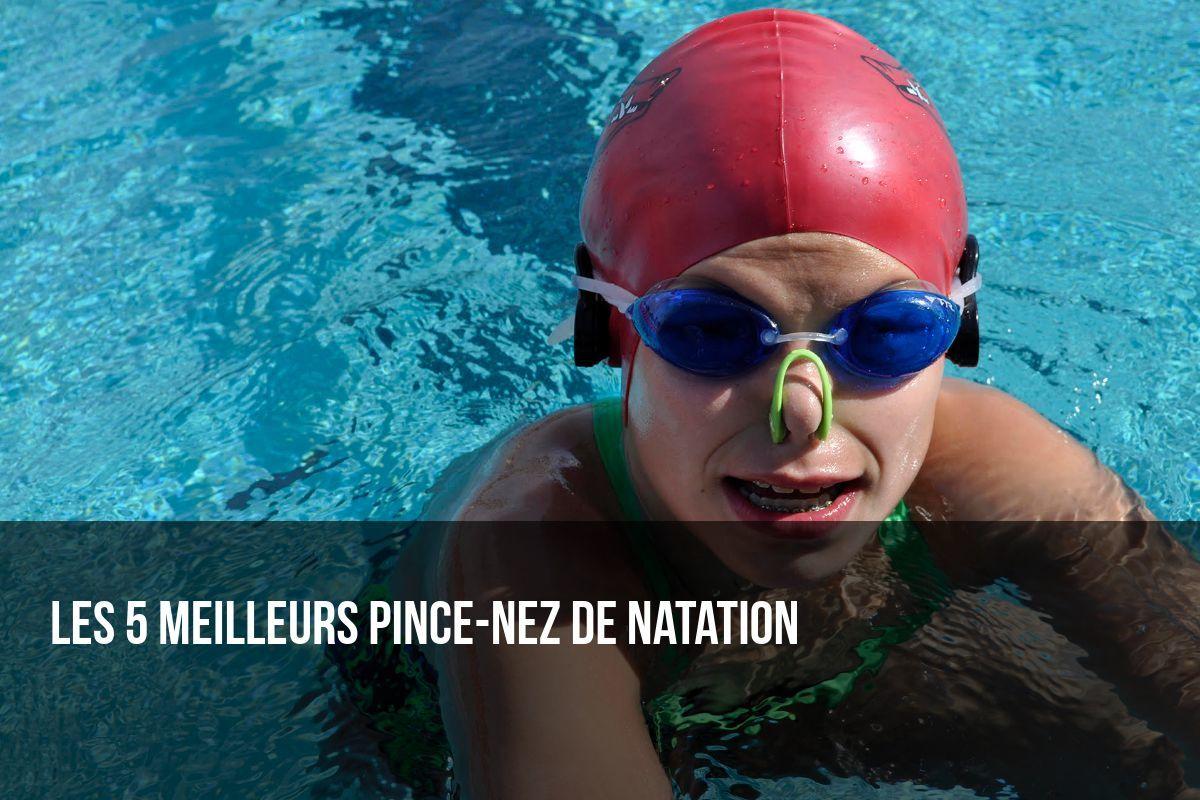 pince nez de natation