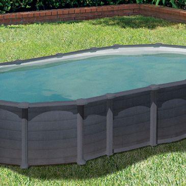 piscine hors sol acier rectangulaire