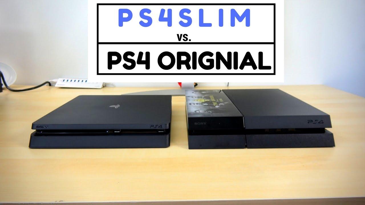 ps4 vs ps4 slim