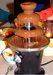 recette fontaine au chocolat