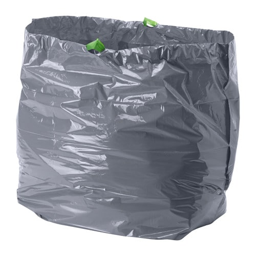sac poubelle rectangulaire