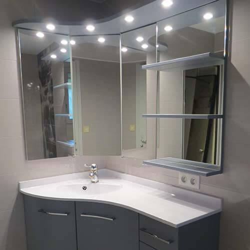 salle de bain d angle