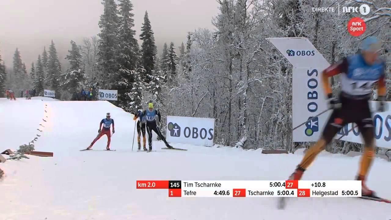 ski de fond skating