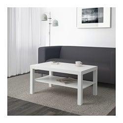 table basse lack blanc