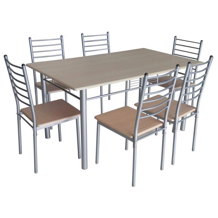 table de cuisine avec chaise