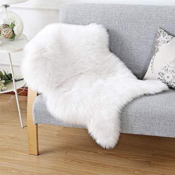 tapis imitation fourrure