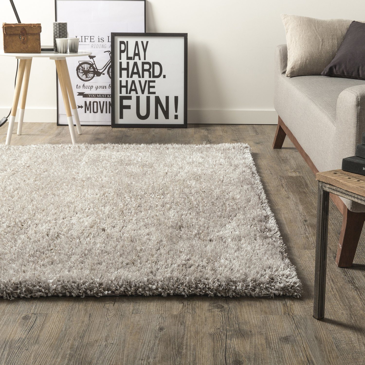 tapis moelleux