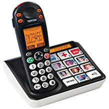 telephone sans fil grosse touche personnes agées