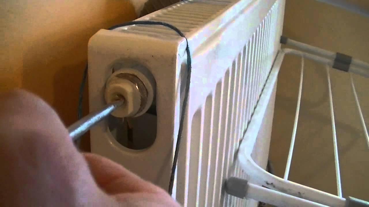 vis de purge radiateur