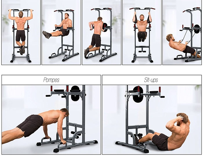 exercice chaise romaine
