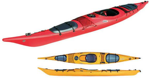 kayak de mer rigide