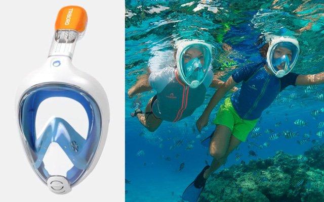masque pour respirer sous l eau