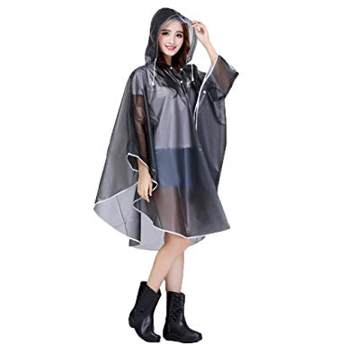 poncho pluie femme
