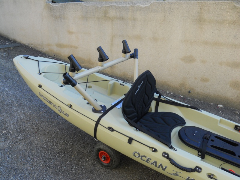 porte canne kayak