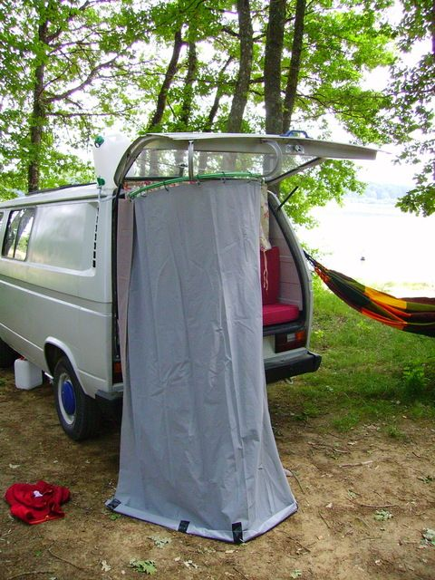 cabine douche camping