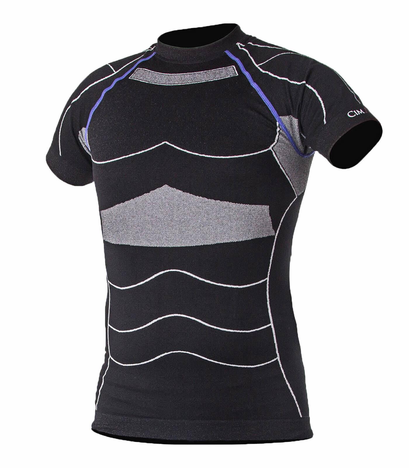t shirt compression homme