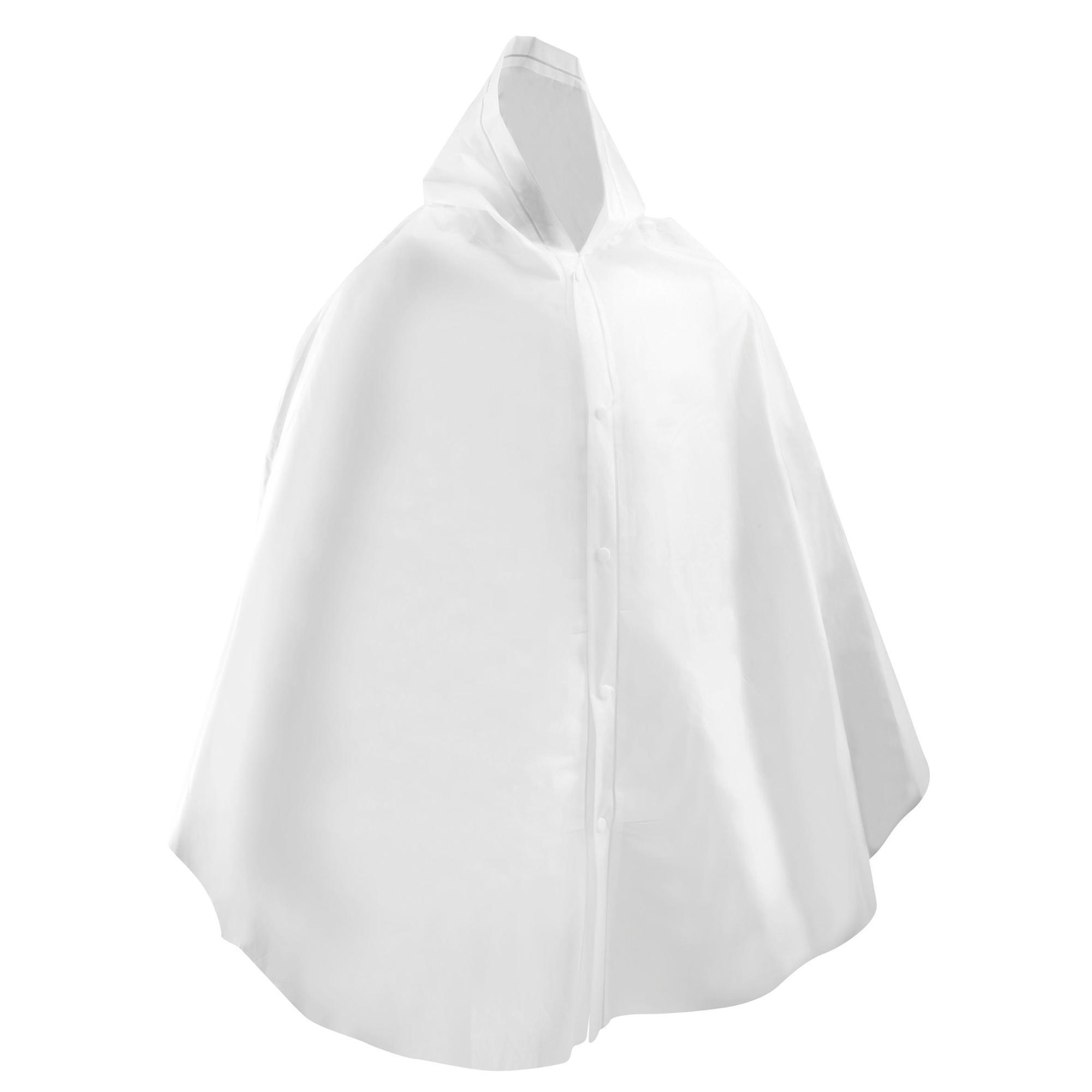transparent poncho