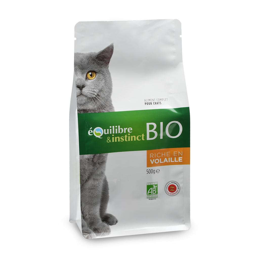 nourriture chat bio